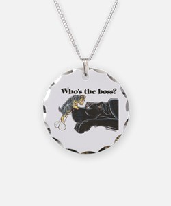 NB/Yorki Who's The Boss? Necklace