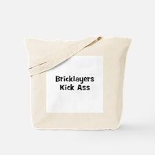Bricklayers Kick Ass Tote Bag