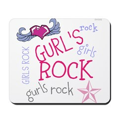OYOOS Girls Rock design Mousepad