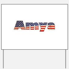 American Amya Yard Sign