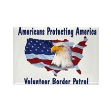 Americans Protecting America Magnet