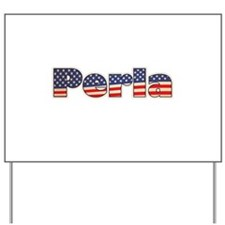American Perla Yard Sign