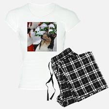 Smooth Collie Christmas Pajamas