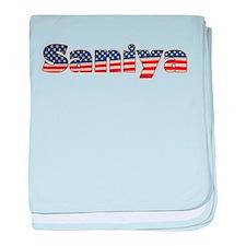 American Saniya baby blanket