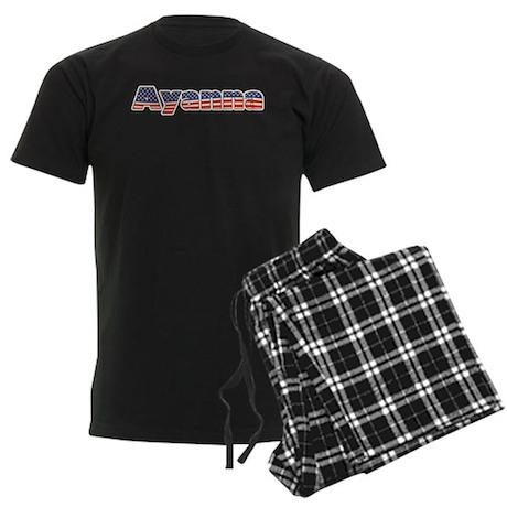 American Ayanna Men's Dark Pajamas