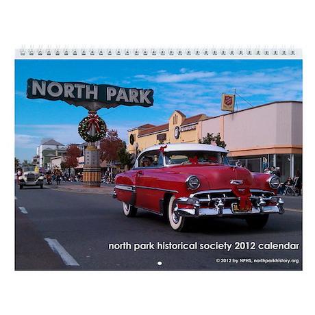 North Park Historical Society 2013 Calendar