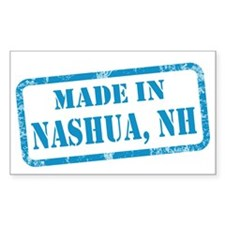 MADE IN NASHUA Decal