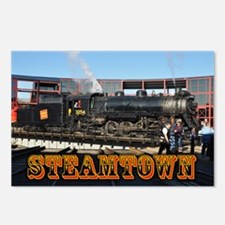 Jim's Steamtown Train Photo - Postcards (Package o