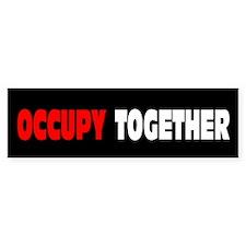 Occupy Together: Bumper Sticker