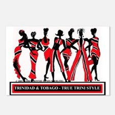 TRINI STYLE  Postcards (Package of 8)