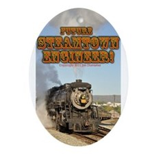 Steamtown Future Engineer- Ornament (Oval)