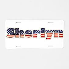 American Sherlyn Aluminum License Plate