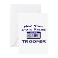 New York State Police Greeting Card
