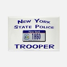 New York State Police Rectangle Magnet
