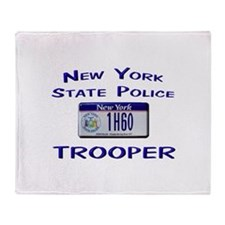 New York State Police Throw Blanket