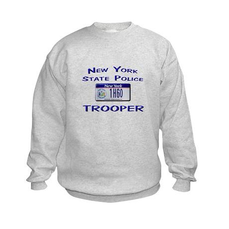 New York State Police Kids Sweatshirt