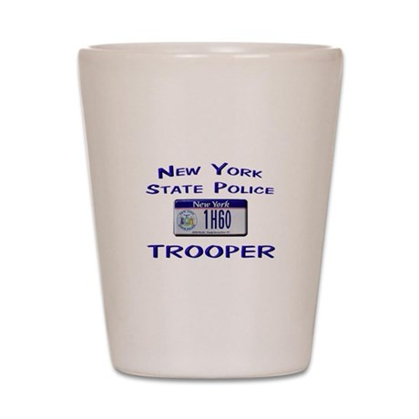 New York State Police Shot Glass