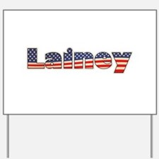 American Lainey Yard Sign