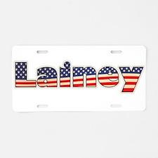 American Lainey Aluminum License Plate