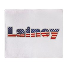 American Lainey Throw Blanket