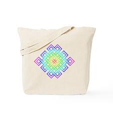 Elaborated Endless Knot, rain Tote Bag