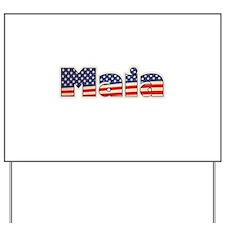 American Maia Yard Sign