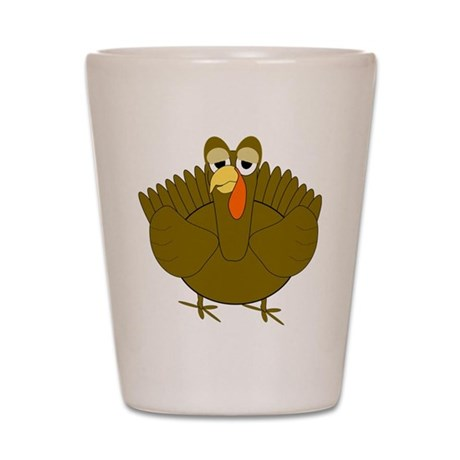 Turkey Shot Glass