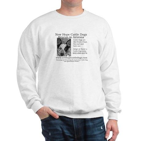 Up Close Cattle Dog NHCD Desi Sweatshirt