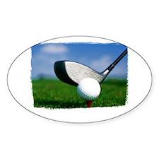 Unique Golf Decal