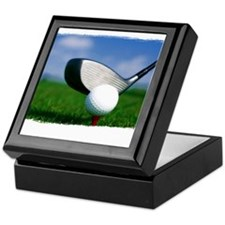 Unique Golf Keepsake Box
