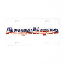 American Angelique Aluminum License Plate
