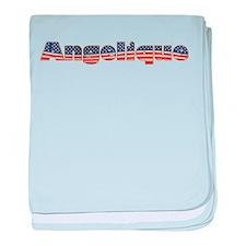 American Angelique baby blanket