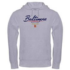 Baltimore Script Hoodie
