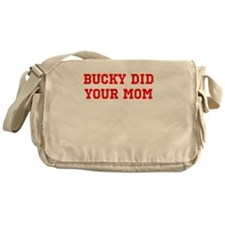 Cute Wisconsin badgers Messenger Bag