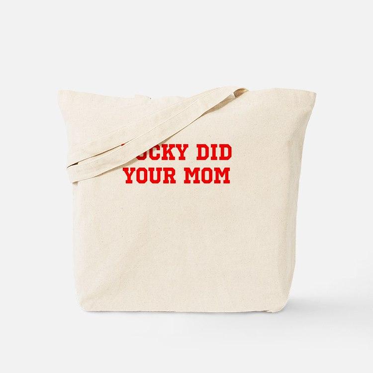 Cute Bucky badger Tote Bag