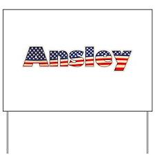 American Ansley Yard Sign