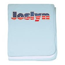 American Joslyn baby blanket