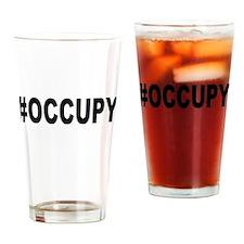 #Occupy Drinking Glass