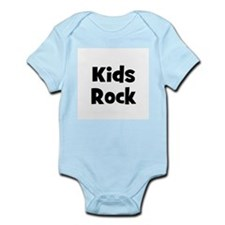 Kids Rock Infant Creeper