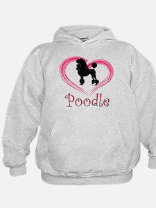 Heart My Poodle Hoodie