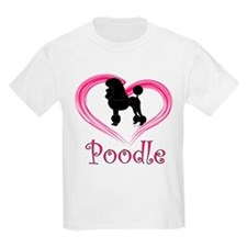 Heart My Poodle T-Shirt