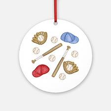 Baseball Ornament (Round)