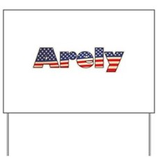 American Arely Yard Sign
