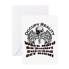 Occupy Reality Greeting Card