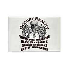 Occupy Reality Rectangle Magnet
