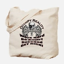 Occupy Reality Tote Bag