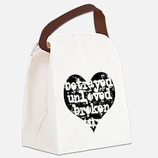 Heartbroken Canvas Lunch Bag