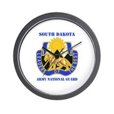 DUI-SOUTH DAKOTA ANG WITH TEXT Wall Clock