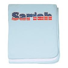 American Sariah baby blanket