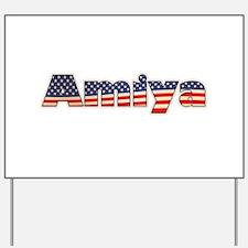 American Amiya Yard Sign